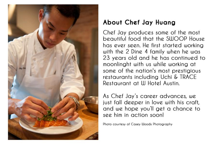 chef-jay-huang-bio- Showcase Pinterest Jay - biography example
