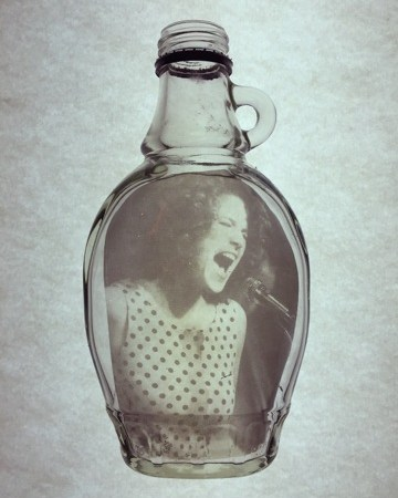 Glass Bottle #1 | One of A Kind | Corinne Adams