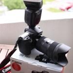 Canon 70D med Phottix Mitros blitz