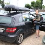 Klar for ny kjøreøkt etter Gardasjøen