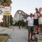 Endelig i Gibraltar! Etterlengtet å komme ut av Middelhavet nå :)