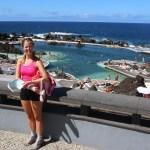Saltvannsbassengene i Puerto Moniz! Fantastisk deilig!