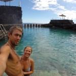 Digge saltvannsbassenger på La Palma :)