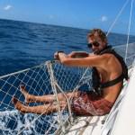 Skippern klar for Anguilla :)