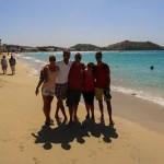 Herlig strand i Grand Case. Gjestene er helt klart brunere nå enn når de kom gitt :)