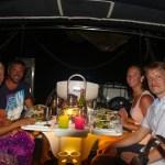 Skandi-kveld med Lise Lott og Johan fra S/Y Corinne.