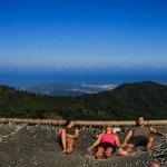 Morgenstemning med utsikt over kysten og Santa Marta