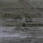 Innsjekkings papirene til den norske mysterie båten Albacor Aldelante fra Trondheim. Forlatt for ett år siden. Myndighetene i Panama ville ha vår hjelp til å finne ut hva som har skjedd med eierene. Noen som har tips? Eieren heter Ellen Margareth Henic