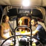 På besøk hos Natali og João i S/Y Babile