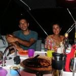 Bursdagskake er obligatorisk. Feiring med Natali og João.