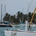Stinn brakke i Chichime Cays på Nyttårsaften