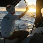 Ingenting er som solnedgangene på havet, enda bedre blir de med moteriktig bandana.