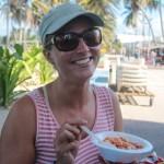 Ceviche må man prøve i Colombia. Du finner det omtrent på hvert gatehjørne.