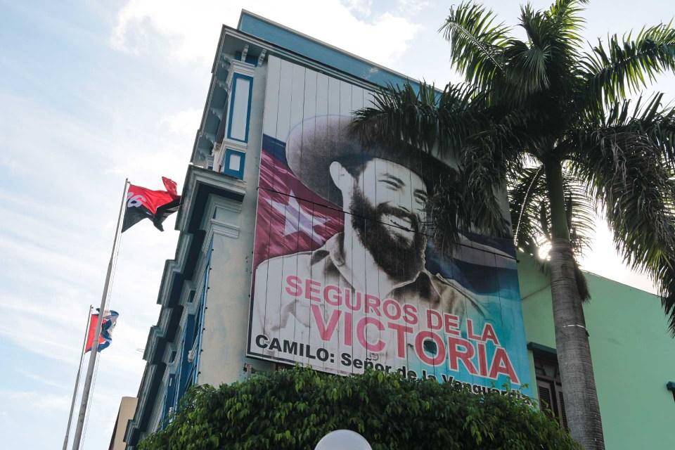 Camilo Cienfuegos - en av revolusjonsheltene.