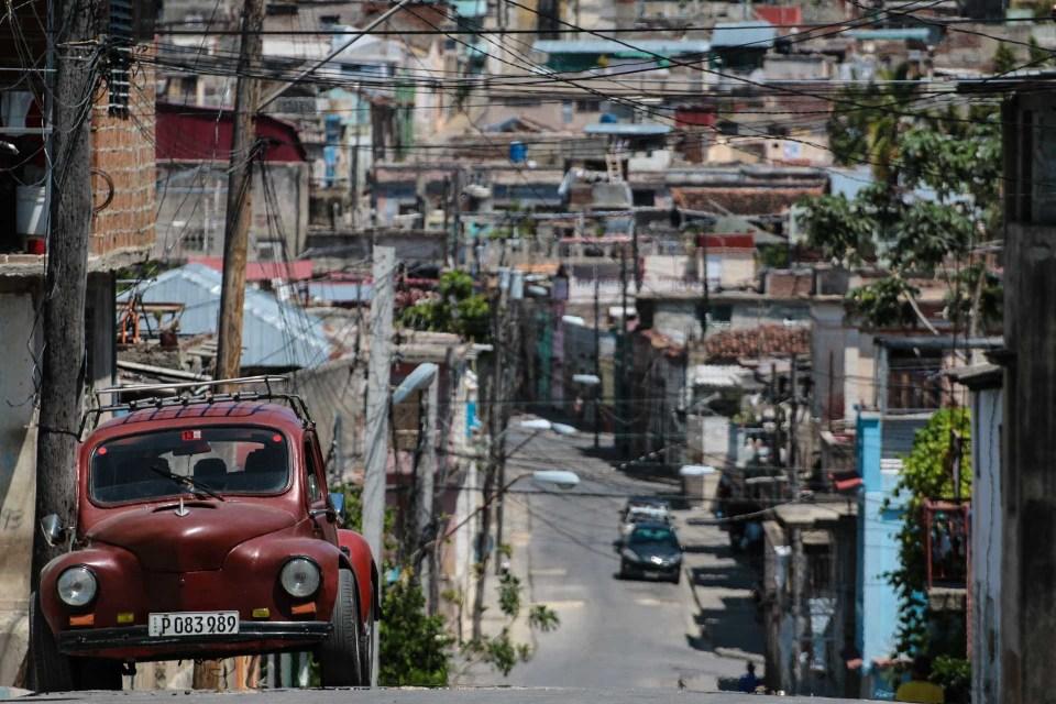 Tivoli-bydelen i Santiago