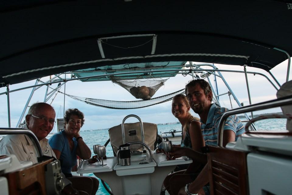 Sundowner med Jack og Jo fra Bodacious.