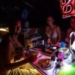 Første kvelden til Rune og Sten i Georgetown, Bahamas. Stor stemning i cockpit :)