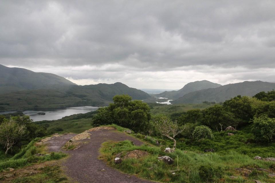 Utsikt over Killarney national park