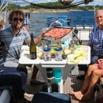 Sissel og Bobby var velkomstkomiteen da vi kom til Norge. Veldig koselig gjensyn!:)