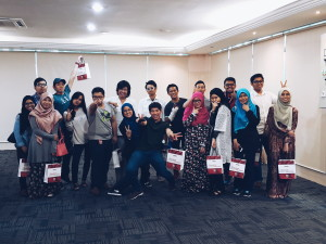 Presented during INTEC's Minggu Destini Siswa with some friends for the Persiapan Minda's slot