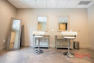 Estate Bridal Suite Hair & Makeup Room