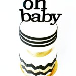 Oh+Baby+Modern+Baby+Shower+Cake