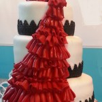 Red_Flamenco_Train_Wedding_Cake_Sydneys_Sweets