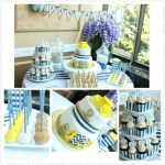 Nautical+Boy+Baby+Shower+Cake+Dessert+Table