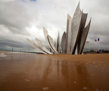 Omaha Beach en normandie