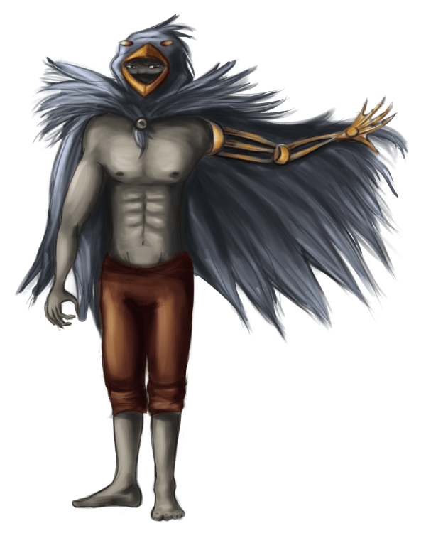 Bird dude by Sylvia Kosowski