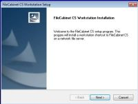 How To Install FileCabinet CS - Symtec