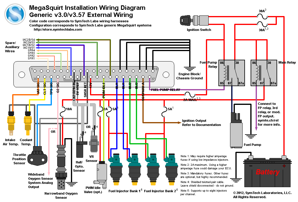microsquirt 4g63 wiring diagram