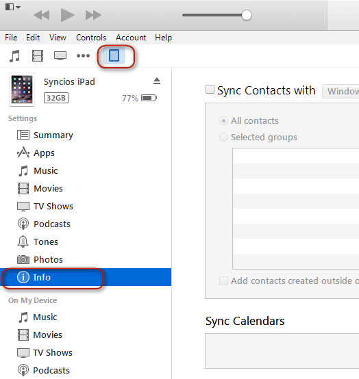 How to sync iphone/ipad/iPod Touch with Outlook Calendar? - Syncios