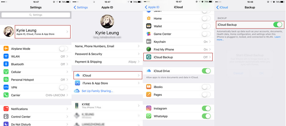 How to backup iPhone/iPad before upgrading to iOS 11