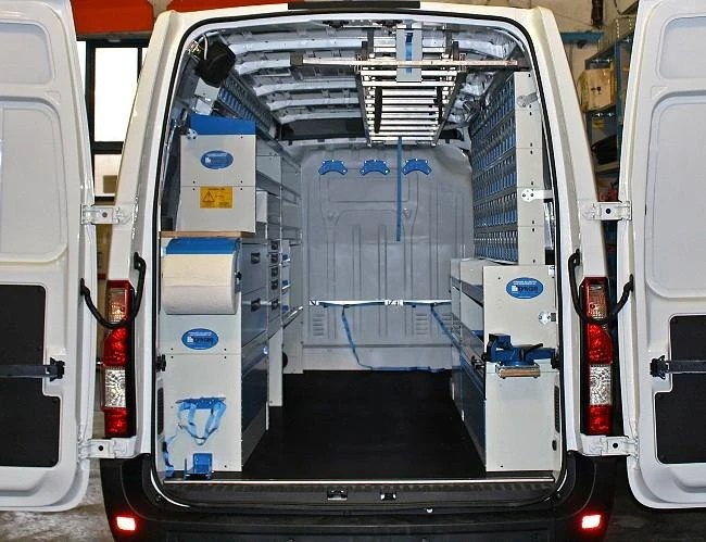 Master Movano 2010 Van Racking From Syncro System