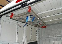 INTERIOR LADDER HOLDER TO COMPLETE THE RACKING SOLUTION OF