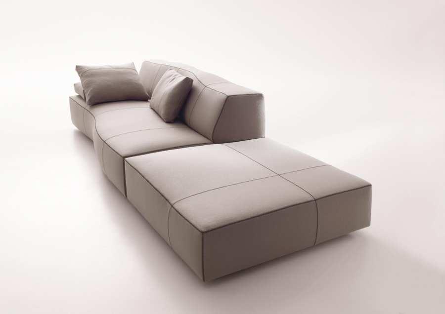 3d Curved Wallpaper Bend Sofa B Amp B Italia Download Bim Objects Sofas