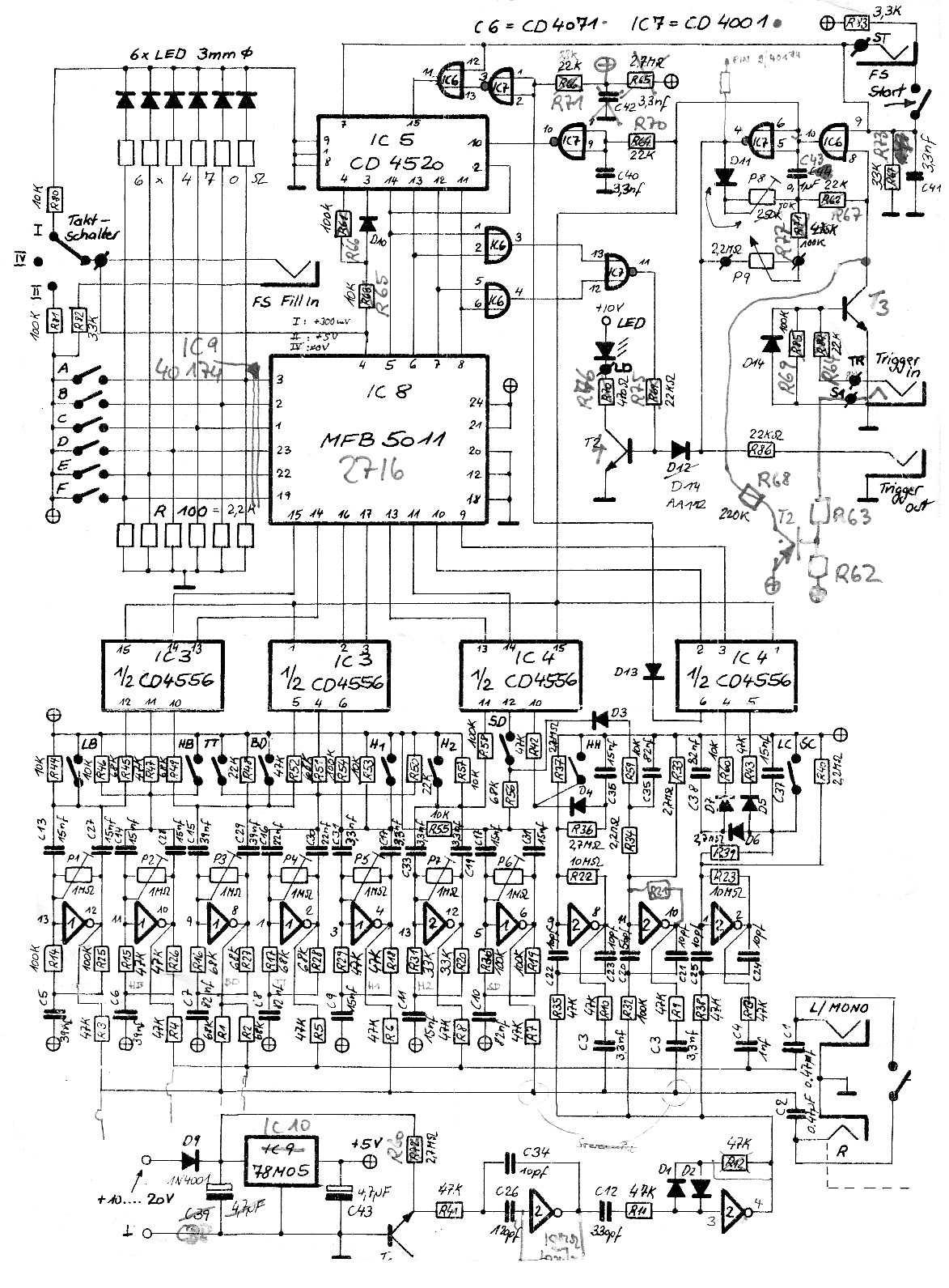 kurzweil wiring diagram