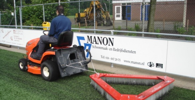 Drag Brush Synthetic Turf Pitch