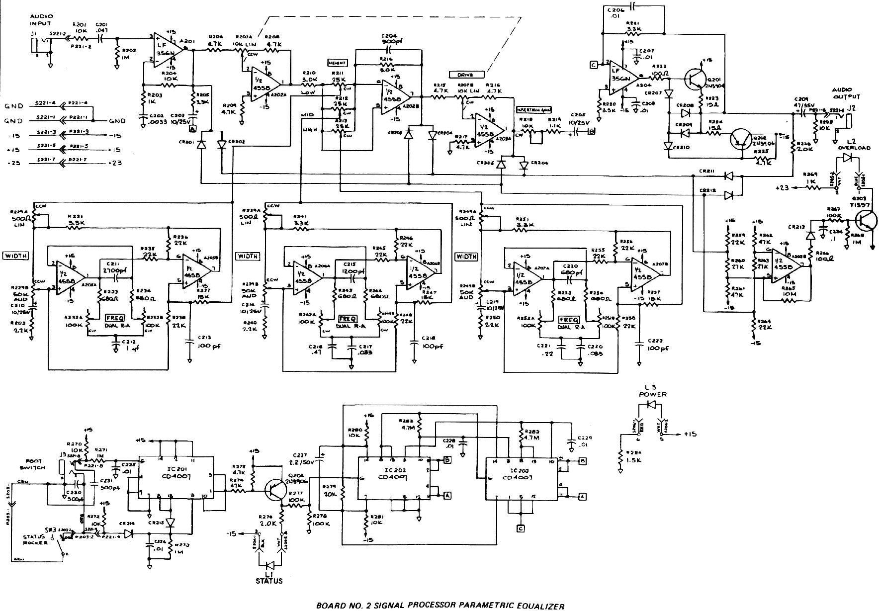 moog theremin schematic diagram part 1