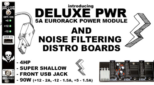 eurorack power cable wiring