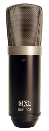 MXL.008 USB Cardioid Condenser Microphone