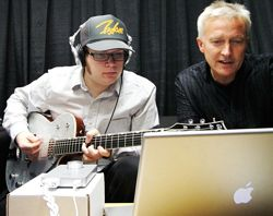 Fall Out Boy Makes Hits With Garageband