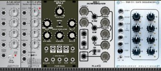 Modular synthesizer planner