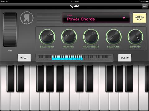 iPad-synth