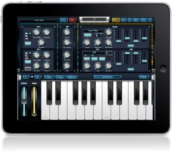 Arctic Keys synth for iOS