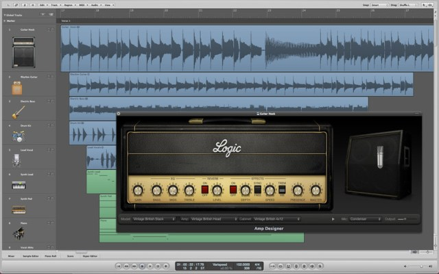 Logic Pro 9 in the App Store