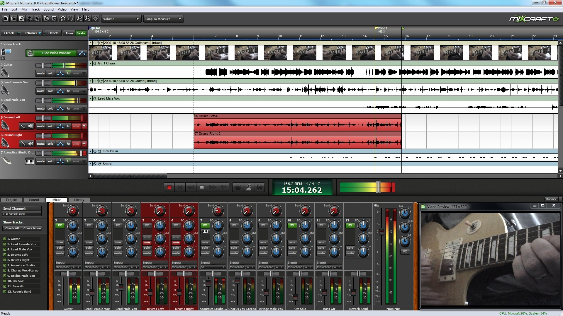 mixcraft pro studio 6 download