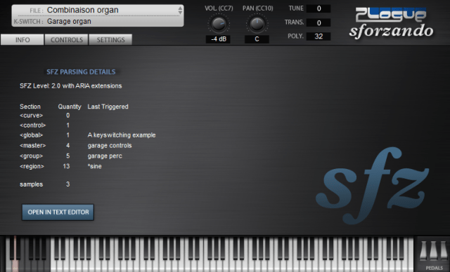 Free Soundfont Player