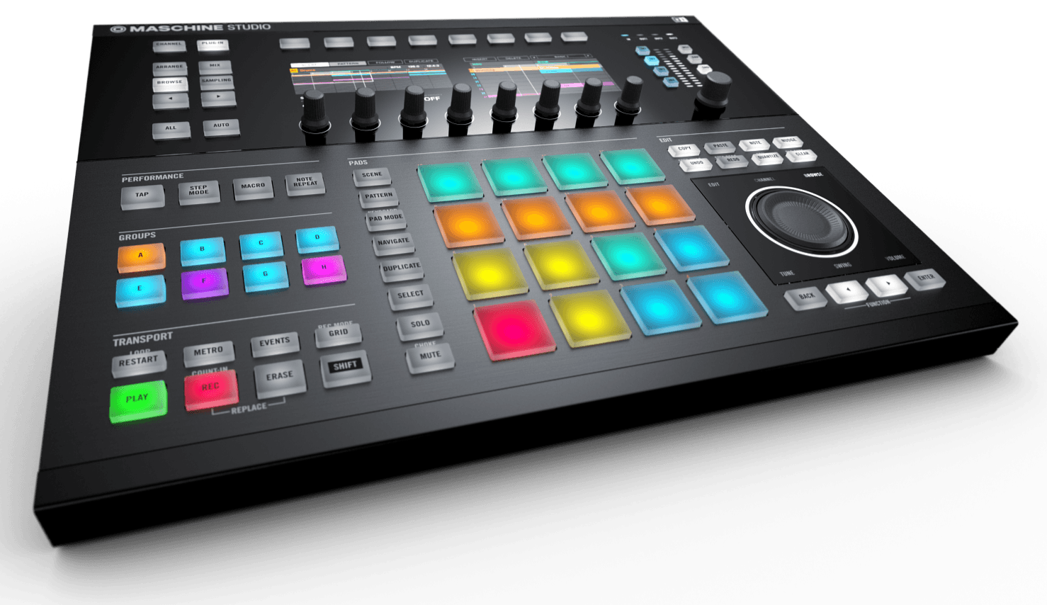 Announced that maschine studio and maschine 2.0 are now available